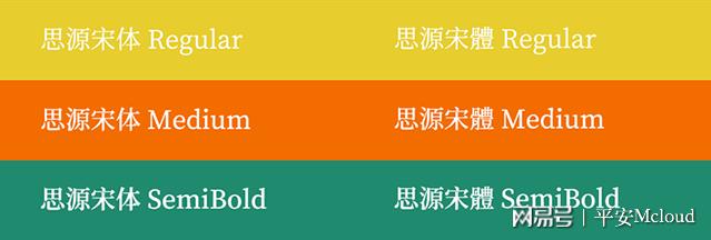 免费商用字体: 推荐几款常用的可商业授权字体下载